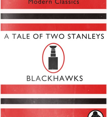 Two Stanleys Book Cover Sticker