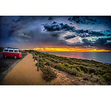 Surfer Sunrise, Bells Beach Photographic Print