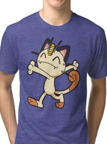 Meowth so fresh Tri-blend T-Shirt