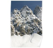 Winter In The Julian Alps Poster