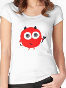 cute devil Women's Fitted Scoop T-Shirt