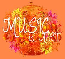 Music is Art by Hannah94