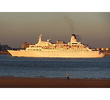 DISCOVERY CRUISE LINER Photographic Print