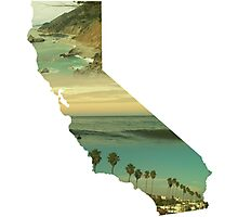 California Collage Photographic Print