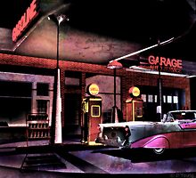 50's Gas Station by DYoungDigital