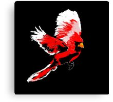 Painted Cardinal Design Canvas Print