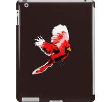 Painted Cardinal Design iPad Case/Skin