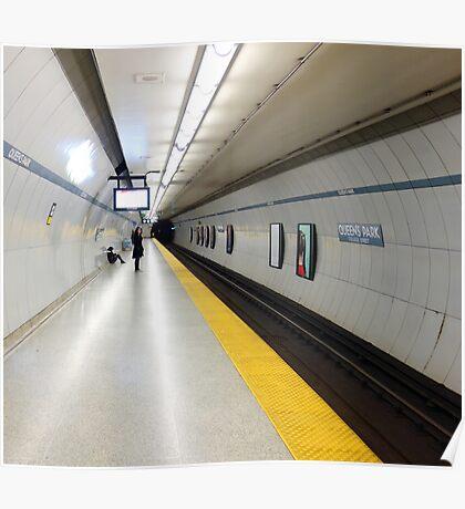 Toronto Subway Platform Poster