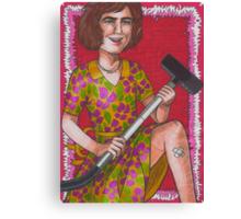 Domestic Goddess Canvas Print