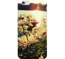 Flowers by the Lake iPhone Case/Skin