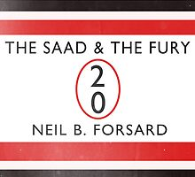 The Saad & The Fury Book Cover by mightymiked
