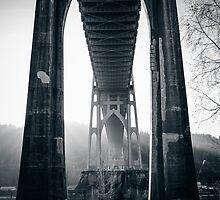 Under St. John's Bridge by Jessie Cousins