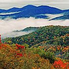 AUTUMN STORM,SUGARLANDS VALLEY by Chuck Wickham