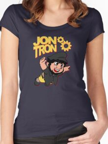 JonTron  Women's Fitted Scoop T-Shirt