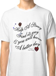 HAS (Help A Stray) Hope Classic T-Shirt