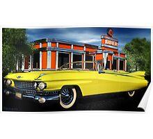 59 Cadillac Eldorado Biarritz Poster