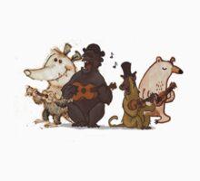 Animal Ukulele Band by 12345coit