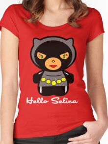 Hello Selina Women's Fitted Scoop T-Shirt