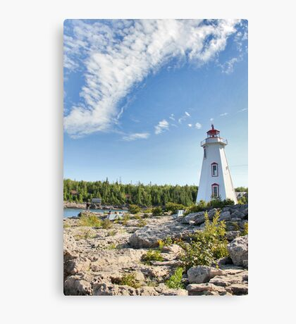 Tobermory Lighthouse Canvas Print