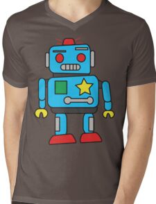 Mr. Robot Mens V-Neck T-Shirt