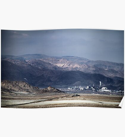 Trona Under Cloudy Skies Poster