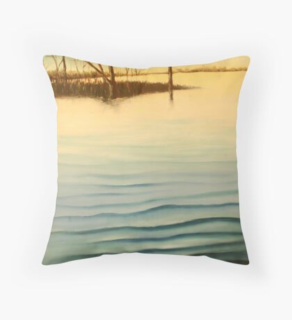 Lake Mulwala, Yarrawonga, Victoria, Australia Throw Pillow