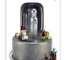 Our Lady of Perpetual Cooking by Elaine Luther by ElaineLutherArt