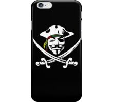 Rasta Anonymous Flag iPhone Case/Skin