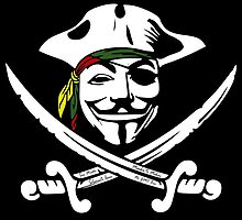 Rasta Anonymous Flag by WahlaBear