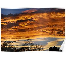 Angry Kansas Sunrise Poster