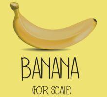 Banana (for scale) Kids Tee