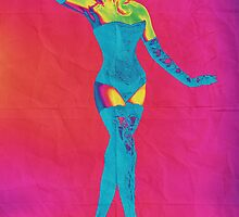 Psychedelic Poster by Amilene