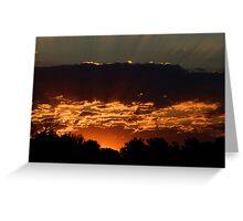 Olathe Sunrise Greeting Card