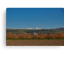 Jechtingen, Kaiserstuhl, Germany Canvas Print