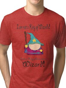 The Wizard King Tri-blend T-Shirt