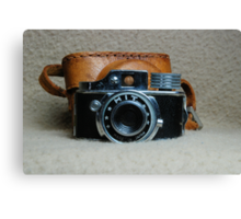 Vintage HIT Camera Canvas Print