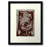 Vintage Kodak Framed Print
