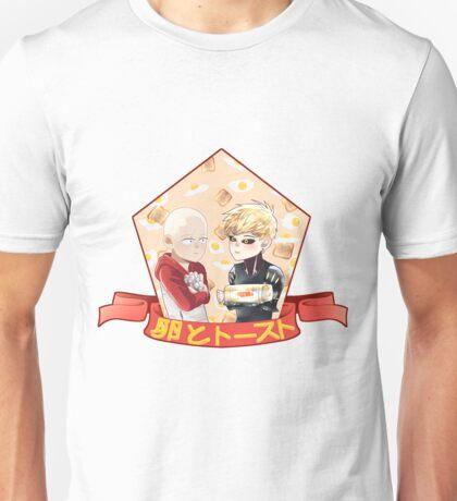 Egg and Toaster Unisex T-Shirt