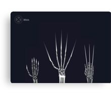 The Wolverine Claws  Canvas Print