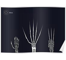 The Wolverine Claws  Poster