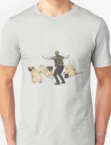 Jurassic Pugs Unisex T-Shirt