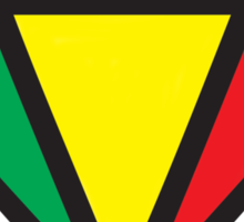 Irie Rasta Diamond Sticker