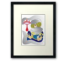 Mystique Sheik Framed Print