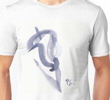 indigo brushstroke 5 Unisex T-Shirt