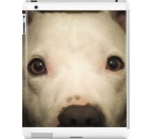 my white staffie marlow  iPad Case/Skin