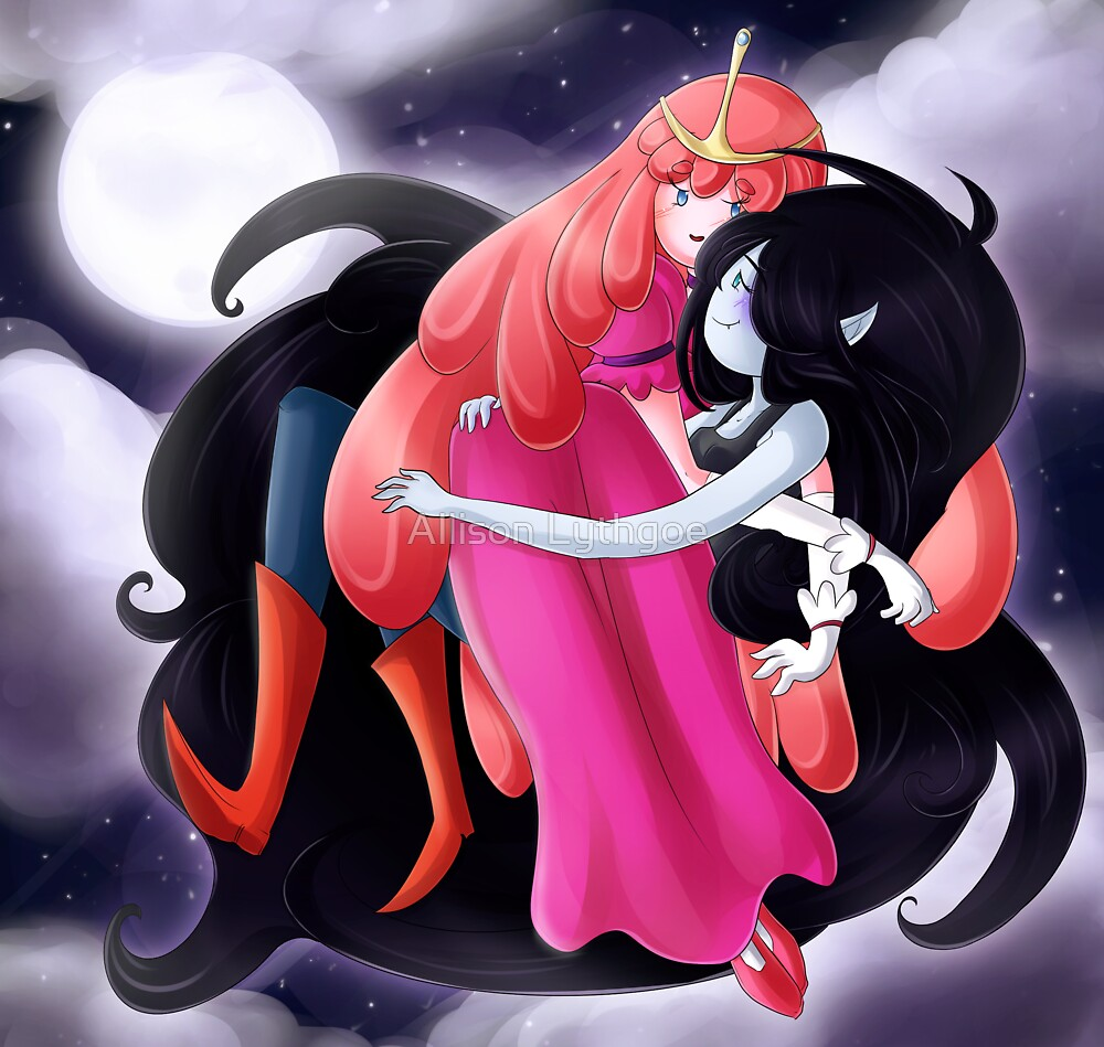 PB and Marceline by Allison Lythgoe