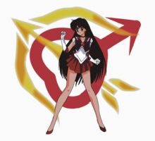Sailor Mars Sailor Scout by SamSteinDesigns