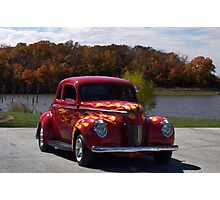 1940 Ford Custom Coupe Photographic Print