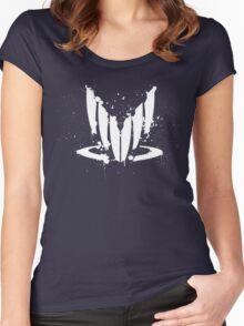 Spectre splatter Women's Fitted Scoop T-Shirt