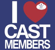 I Heart Cast Members (Orlando) T-Shirt